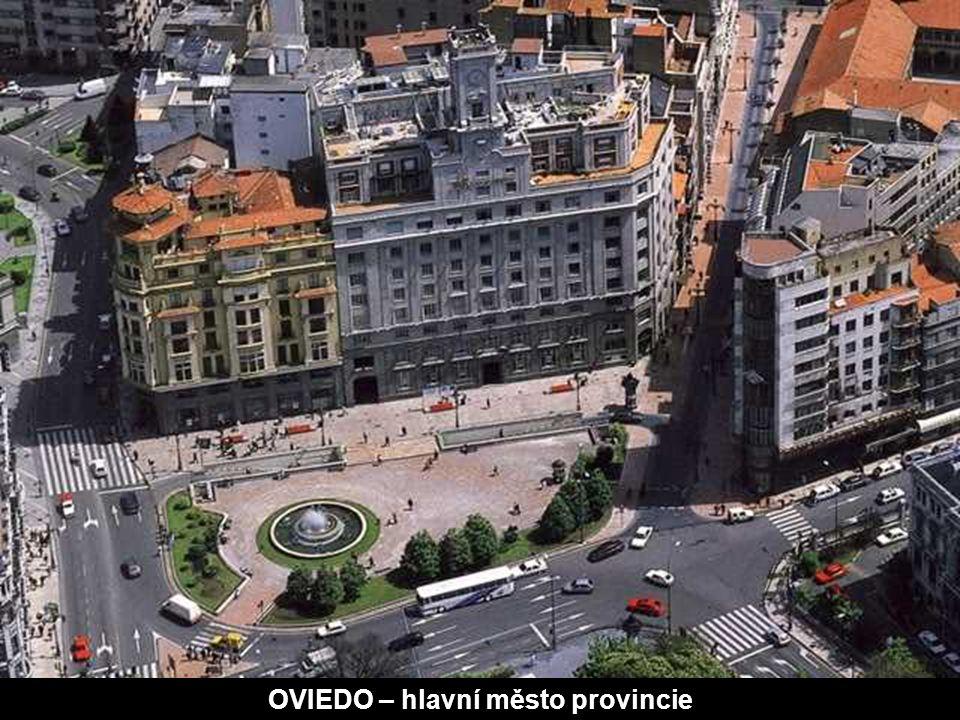 Politické a administrativní středisko je Oviedo, které se nachází v centru regionu.