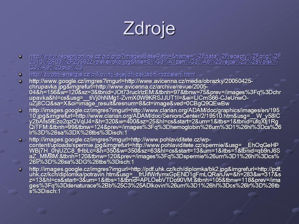 Zdroje http://www.receptyonline.cz/pic.php?imagesBasePath=&name=%2Fdata%2Frecepty%2Forig%2F 2010%2F03%2F205622volskevoko.jpg&title=S%C3%A1zen%C3%A9%20