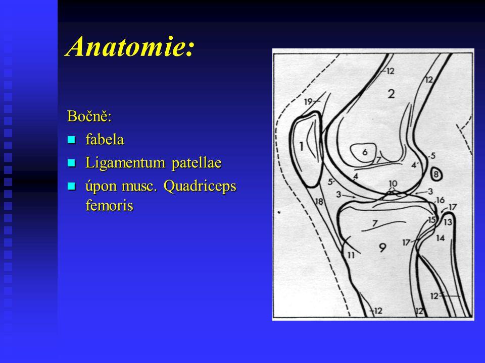 Patologie kolenního kloubu fraktura interkondylických hrbolů ( vytržení z epifýzy tibie )