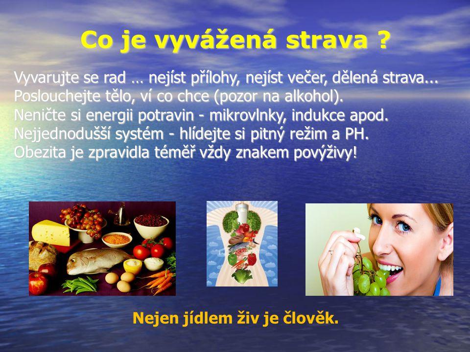 Co je vyvážená strava ? Nejen jídlem živ je člověk. Vyvarujte se rad … nejíst přílohy, nejíst večer, dělená strava... Poslouchejte tělo, ví co chce (p