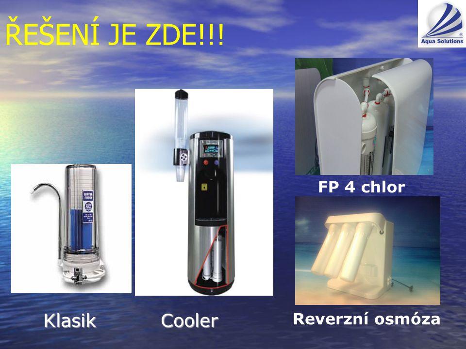 ŘEŠENÍ JE ZDE!!! Klasik Cooler Reverzní osmóza FP 4 chlor