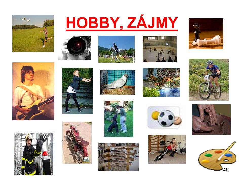 HOBBY, ZÁJMY 49