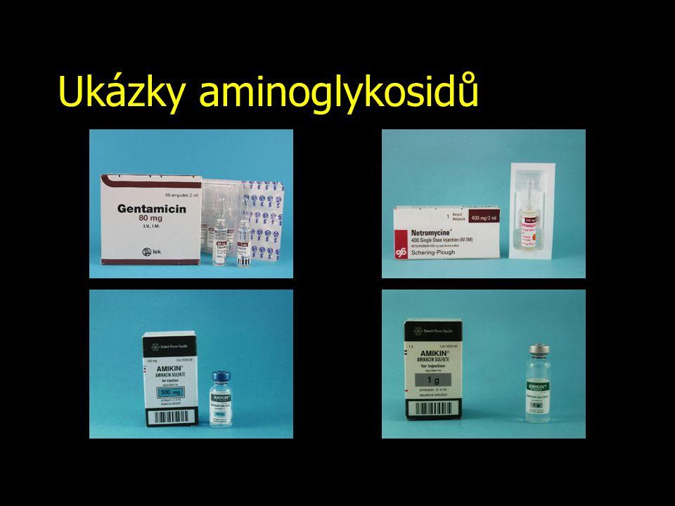 Ukázky aminoglykosidů