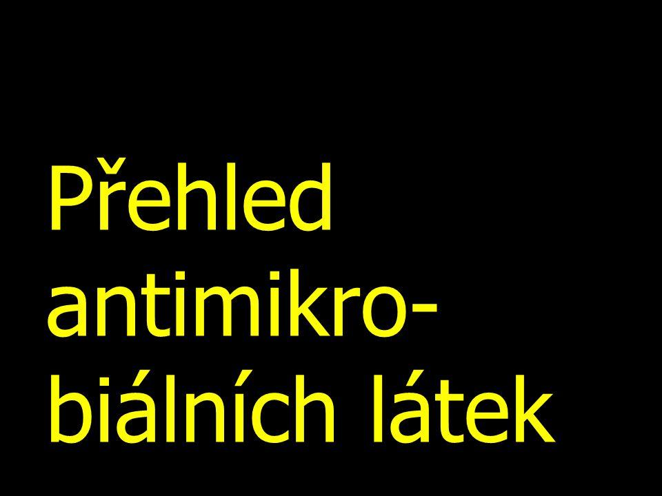Přehled antiretrovirotik Inhibitory proteázsakinavir, indinavir, ritonavir, nelfinavir Nukleosidové a nukleotidové inhibitory RT zidovudin, didanosin, stavudin, zalcitabin, lamivudin, abakavir, tenofovir, emtricitabin Kombinace předchozíchtamivudin + zidovudin tenofovir + emtricitabin Nenukleosidové inhibitory RT nevirapin, efavirenz