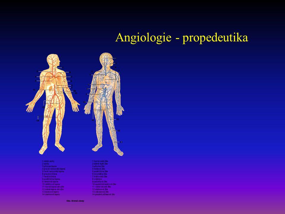 Flebotrombóza – pohmat -Palpační bolestivost v oblasti edému -Homansovo znamení -Plantární znamení