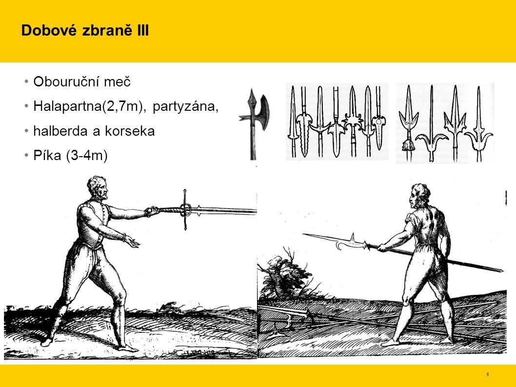 7 Zpracování tematiky Obsahuje 23 mědiryty (italská edice); 22 dřevoryty (anglické vydání) Exaktnost, popis základních termínů – bod, sek, skládání pohybu skrze klouby, držení těla, provádění kroků Rozdělení umění na pravé a falešné Dvě složky pravého umění jsou –odhad – teorie, principy, nejzákladnější a nejlepší možné dráhy a polohy –síla – hbitost, rychlost, soulad pohybů – fyzické cvičení Samostatné cvičení a posilování, tréninkový rozvrh pro výuku Umění vychází z práce s mečem, je aplikovatelné na jakoukoli zbraň Pro každou zbraň –stanoví střehy –probere všechny útoky hrotem a vhodné útoky čepelí –probere obrany proti všem zmíněným útokům