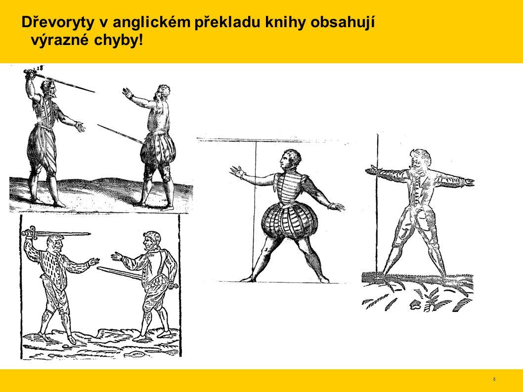 9 Odmítnutí dobových předsudků Vyvrací rozšířený názor, že umění šermu je člověku vrozené Místo toho definuje umění jako vlastnost získávanou neustálým dlouhodobým cvičením (voják) a ztrácenou přílišným odpočíváním Překonávání obtíží je normální Přímka bodu je ve skutečnosti poskládaná výslednice kruhových pohybů v kloubech Rozlišuje mezi pravým a falešným uměním –pravé umění je bezpečné, poctivé a čestné, přímé, spolehlivé –falešné umění se skládá z klamů, záludů a nefér akcí, je nebezpečné pro toho, kdo ho používá na rozdíl od pravého umění je nižší kvality slouží ke sportu, pro hru a zábavu, pro trénink rychlosti a hbitosti Tělo je třeba držet rovně, neohýbat.