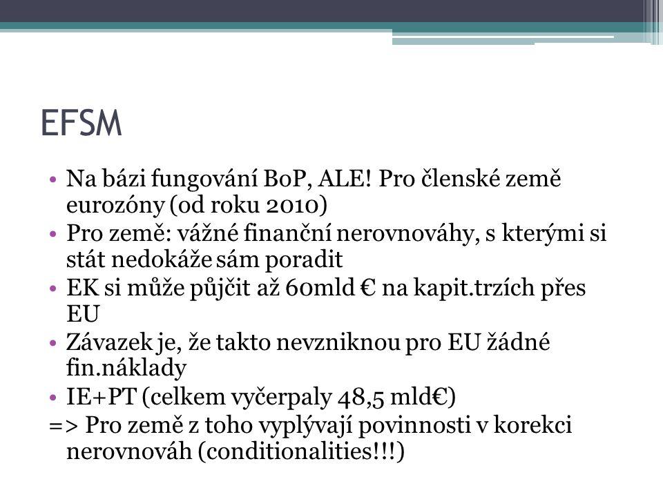 EFSM Na bázi fungování BoP, ALE.