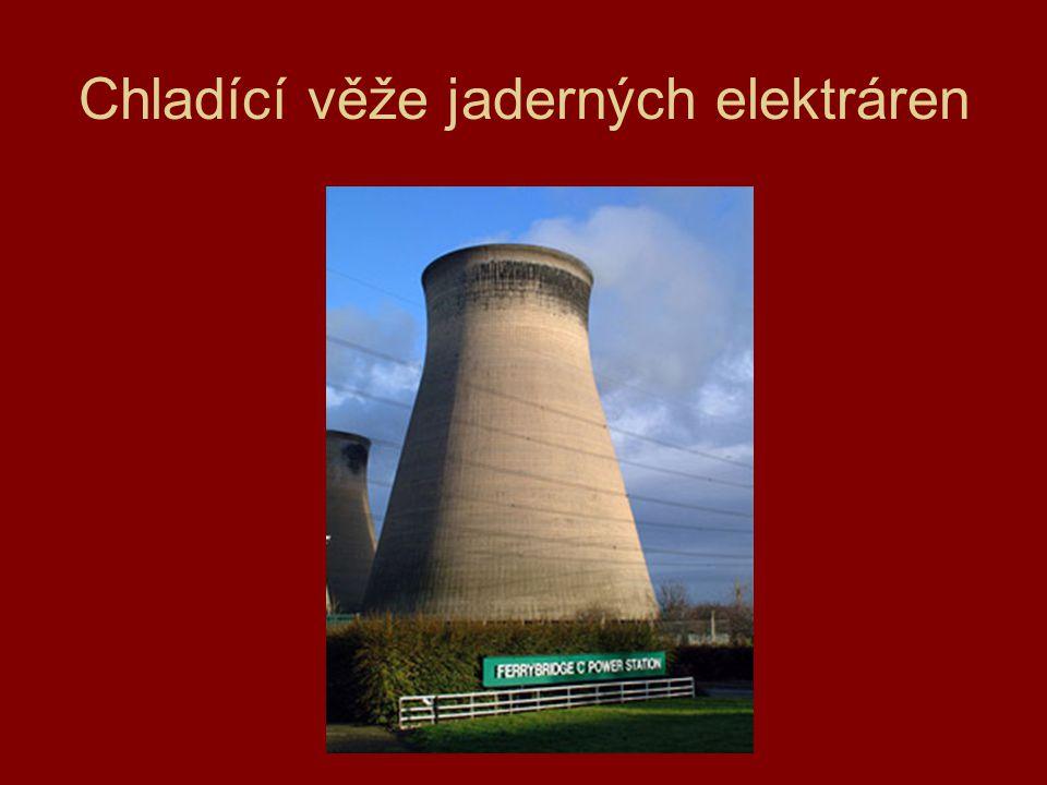 Chladící věže jaderných elektráren
