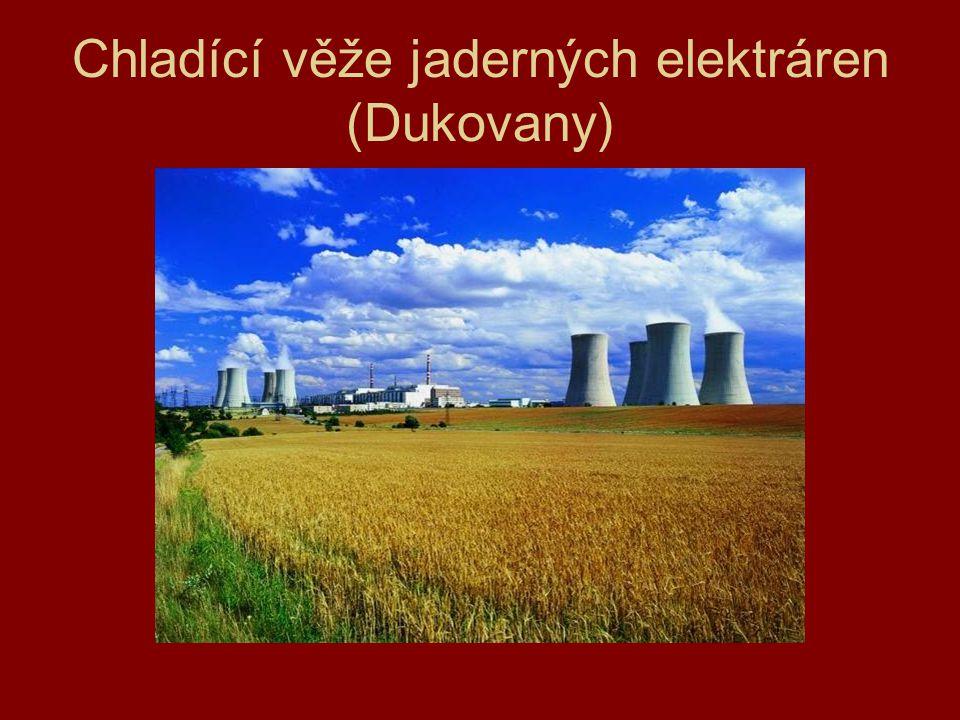 Chladící věže jaderných elektráren (Dukovany)