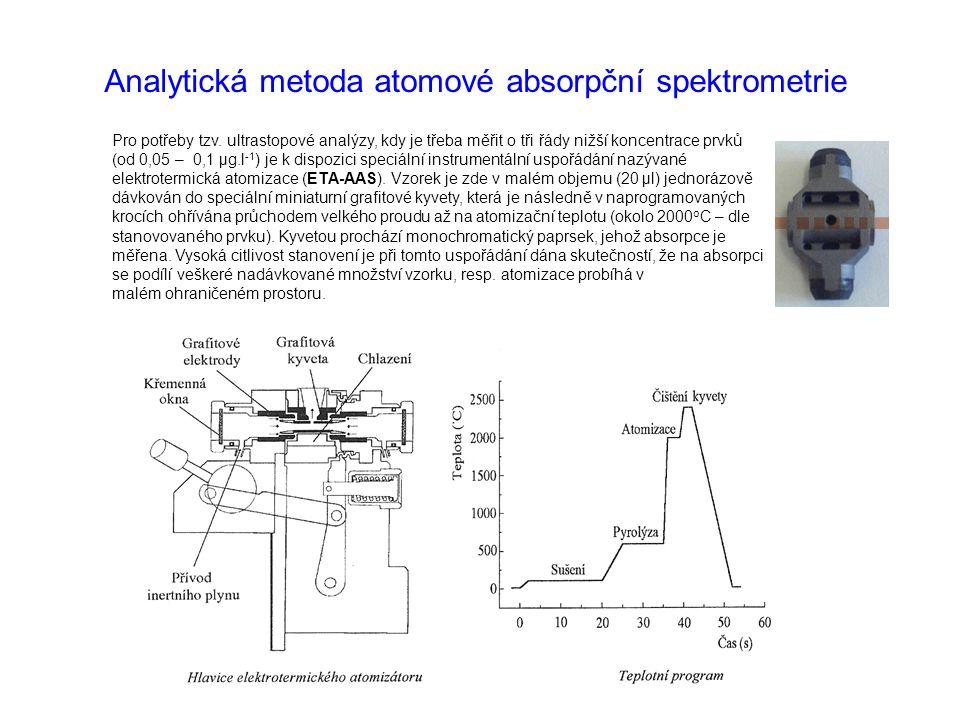 Pro potřeby tzv. ultrastopové analýzy, kdy je třeba měřit o tři řády nižší koncentrace prvků (od 0,05 – 0,1 μg.l -1 ) je k dispozici speciální instrum