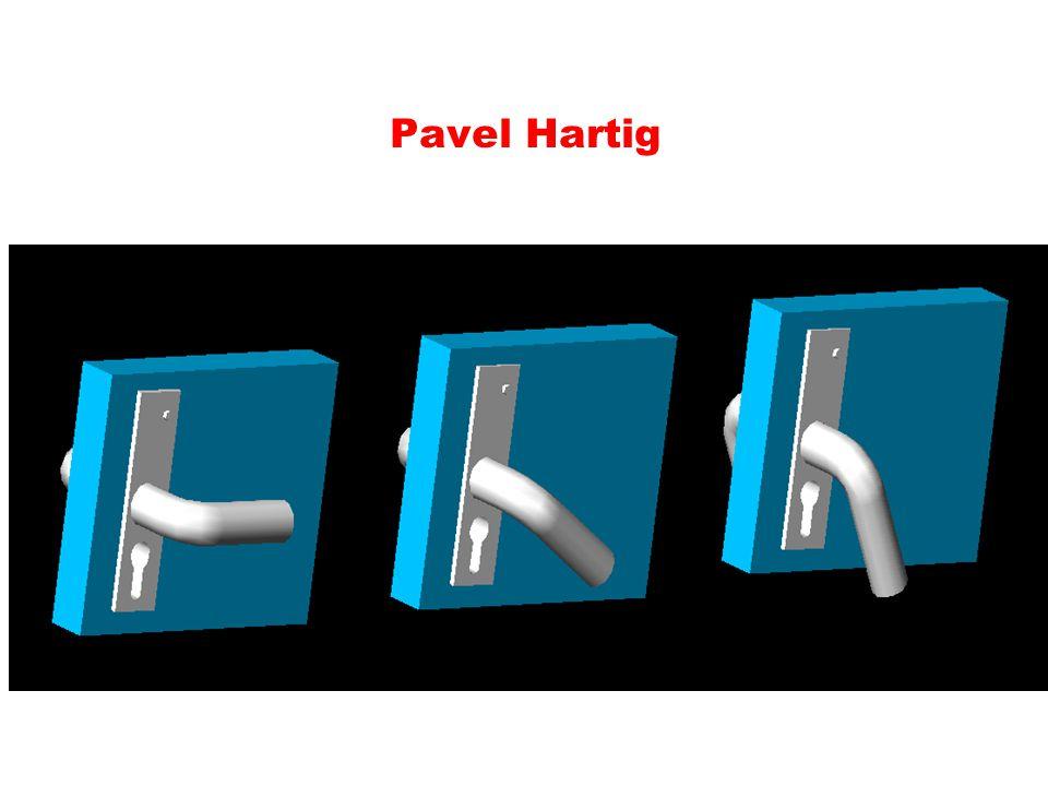 cv. Klika (na mnoho způsobů) příkazy vysunutí po trajektorii, 3D otočit