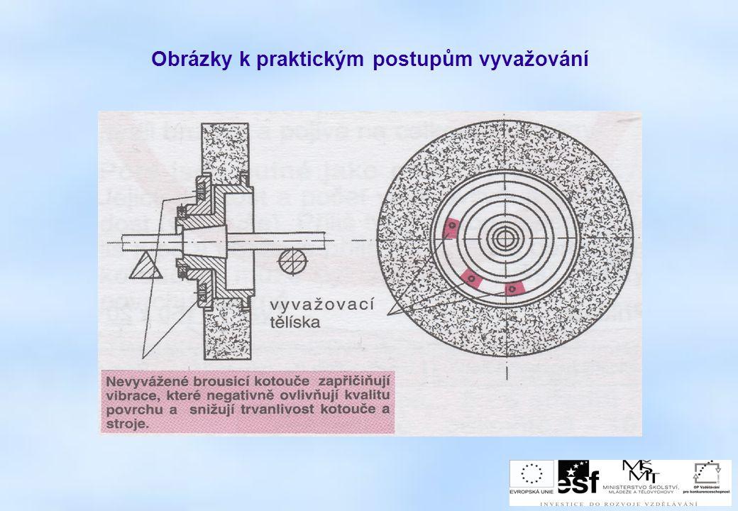 Obrázky k praktickým postupům vyvažování