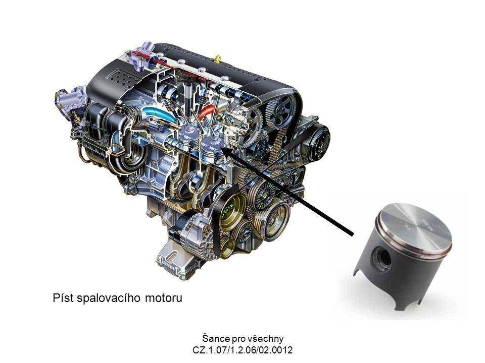 Šance pro všechny CZ.1.07/1.2.06/02.0012 Píst spalovacího motoru