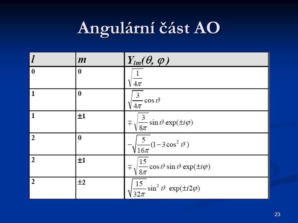 23 Angulární část AO