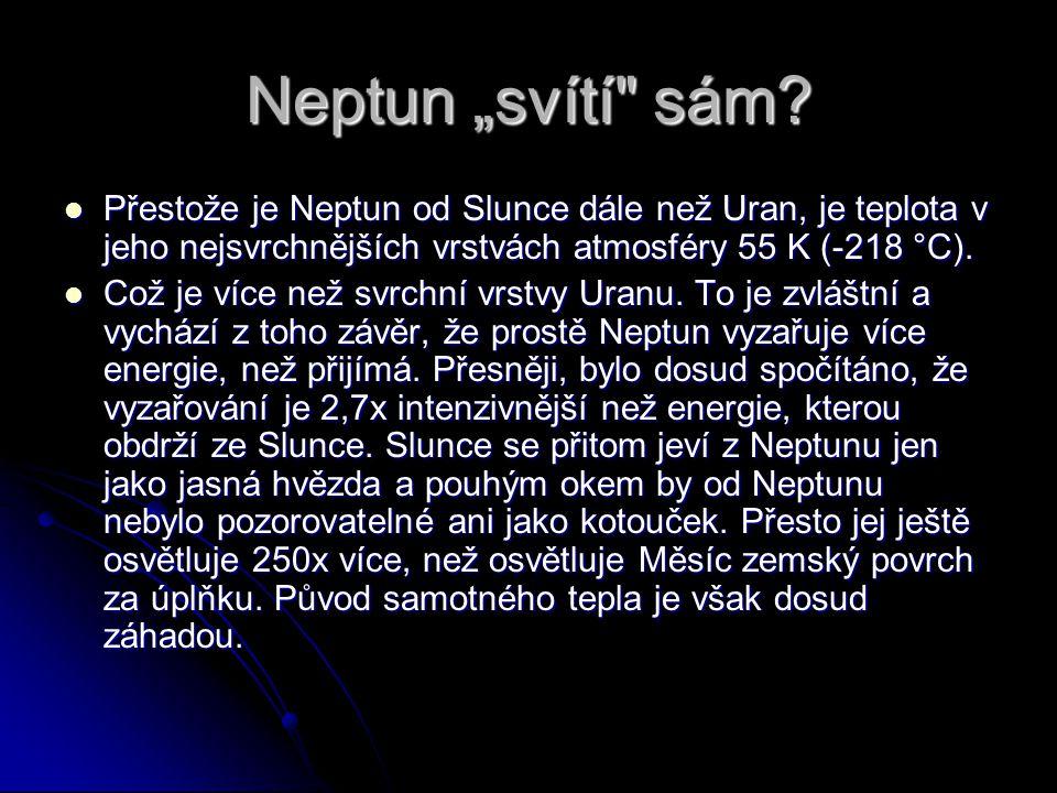 """Neptun """"svítí"""
