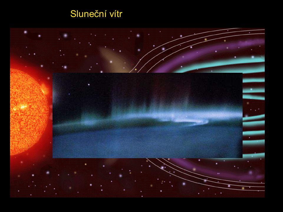 Sluneční vítr je označení pro proudy nabitých částic, vyvržených ze Slunce tlakem záření. Sluneční vítr v podstatě vytváří vnější atmosféru Slunce - k
