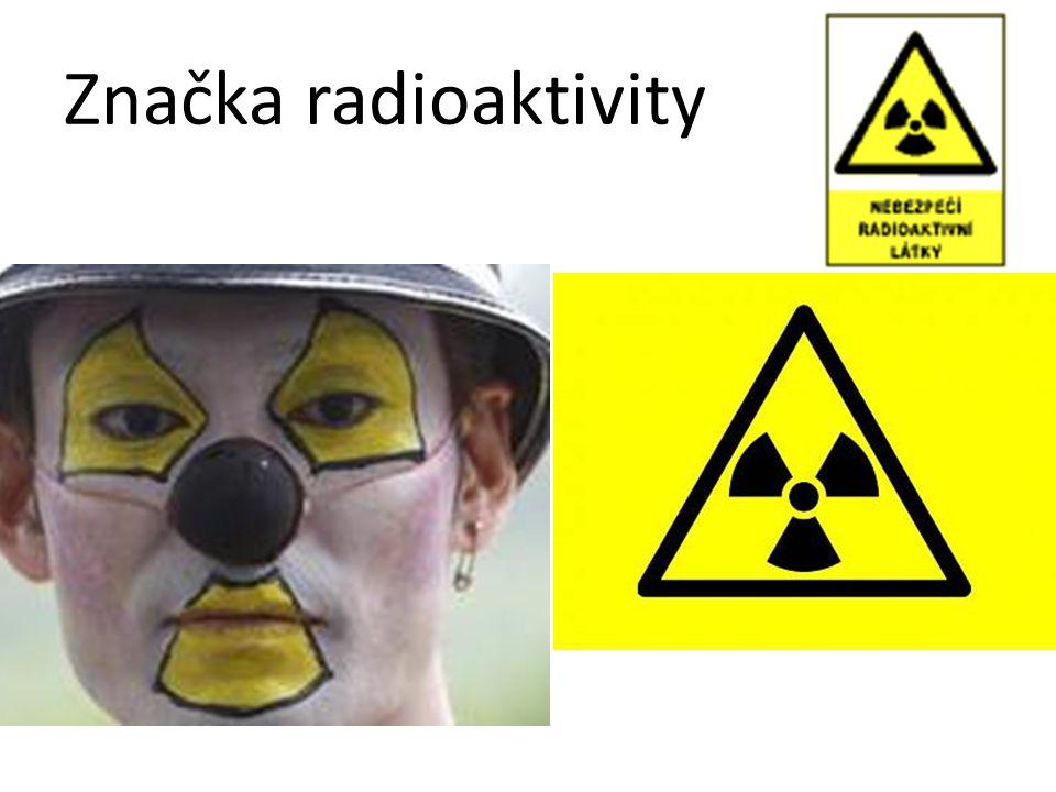Značka radioaktivity