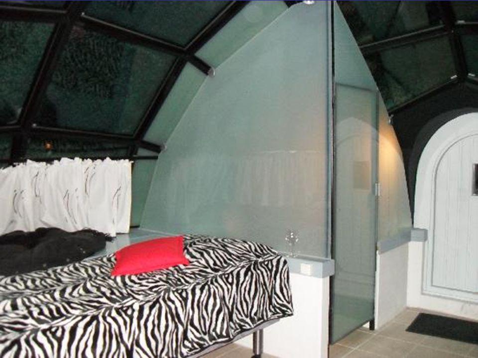 Sauna v ledu.Hotel Kakslauttanen.