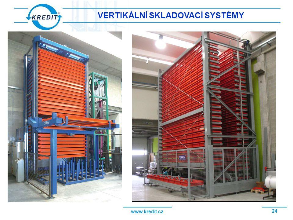 www.kredit.cz 25 VERTIKÁLNÍ SKLADOVACÍ SYSTÉM BIMAG VSS BIMAG v sestavený ze dvou skladovacích věží