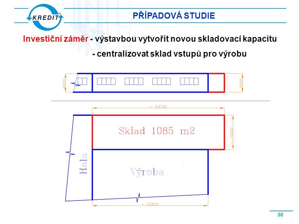 www.kredit.cz 31 PŘÍPADOVÁ STUDIE Umístění externího vertikálního skladovacího systému
