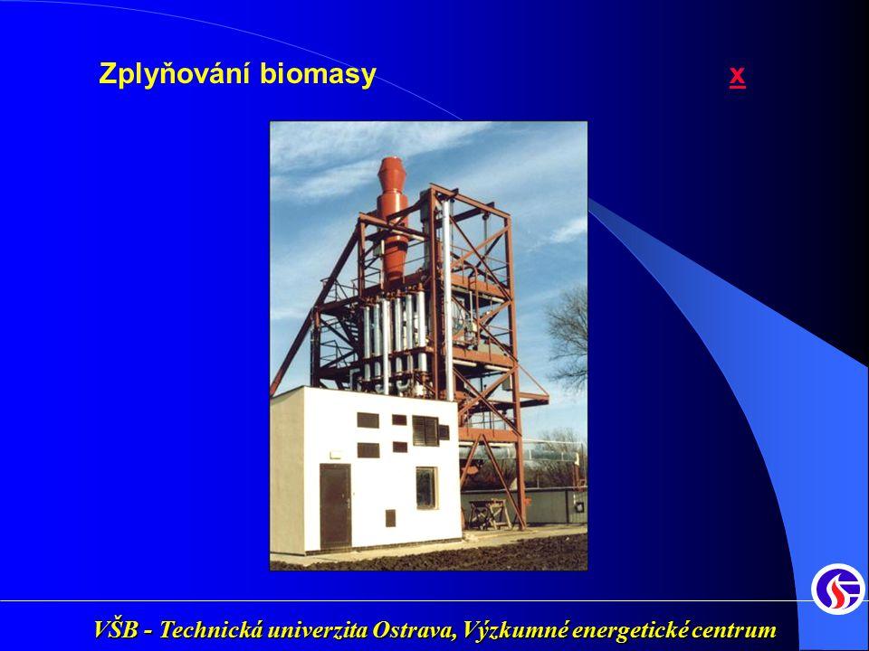 Zplyňování biomasy xx
