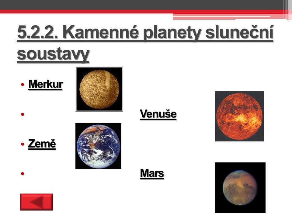 5.2.3. Plynné planety sluneční soustavy Jupiter Jupiter Saturn Saturn Uran Uran Neptun Neptun
