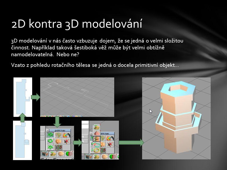 3D modelování v nás často vzbuzuje dojem, že se jedná o velmi složitou činnost.