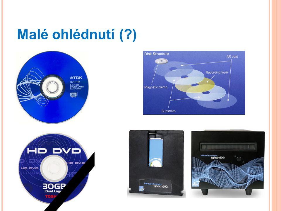"""Ukládání dat """"domácí Uložení na pevný disk počítače Použití pro malé objemy Typicky domácí a kancelářské použití Když záloha, tak na CD nebo DVD"""