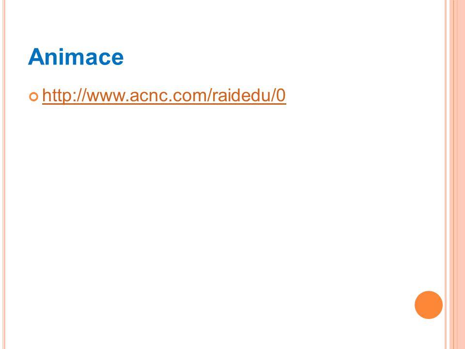 Animace http://www.acnc.com/raidedu/0