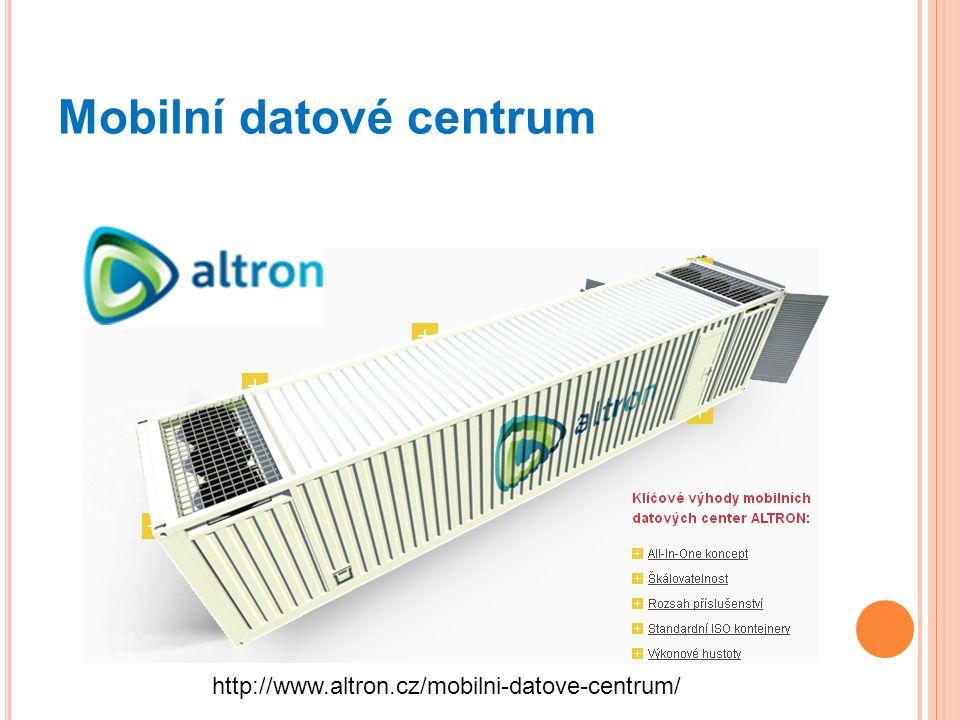 Mobilní datové centrum http://www.altron.cz/mobilni-datove-centrum/