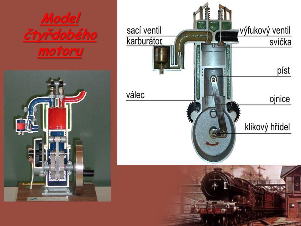 Dvoudobý vznětový motor Ten se kdysi používal jako lodní pohon v ponorkách.