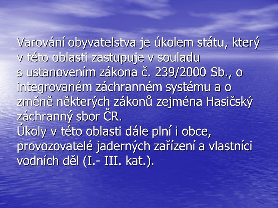 Zákon č.239/2000 Sb., o IZS a o změně některých zákonů, ve znění z. č.186/2006 Sb. § 7 odst. (2) písm. f) § 7 odst. (2) písm. f) MV zajišťuje a provoz