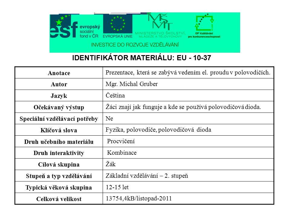 VA charakteristika diody KY132: Obr. 15 a,b,c