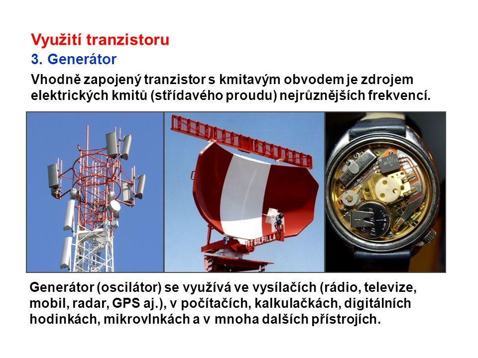 O vynálezu tranzistoru Tranzistorový jev objevili dne 16.