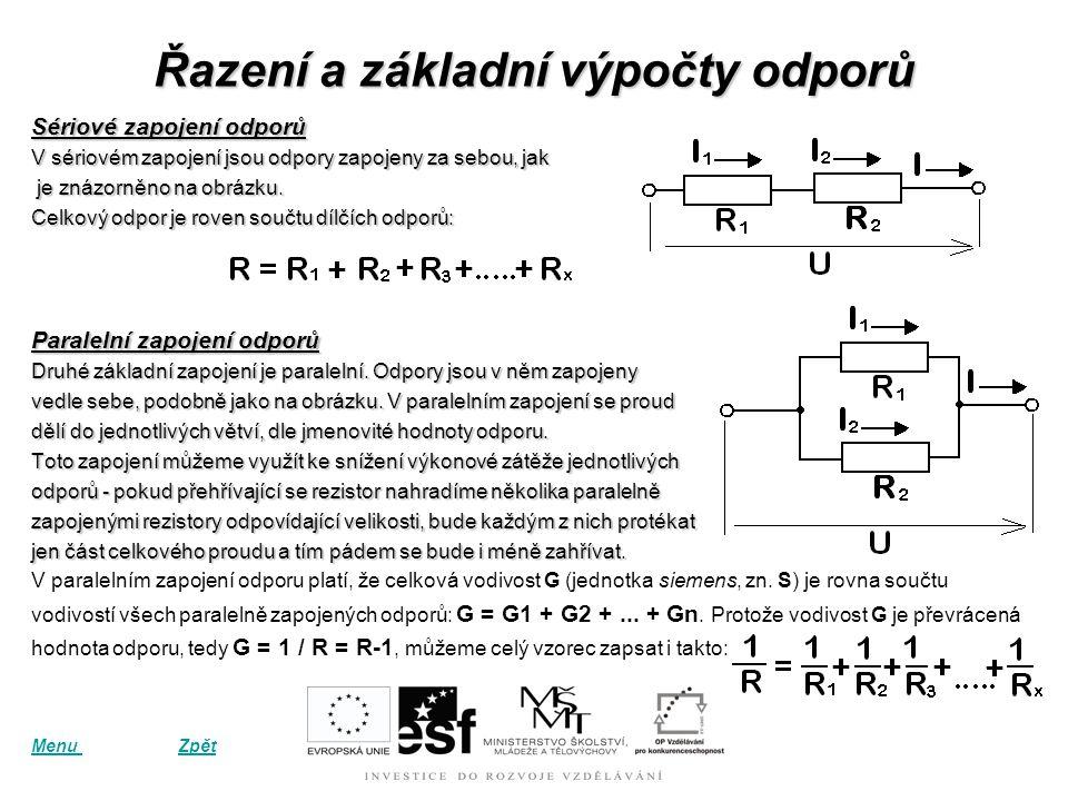 Ohmův zákon vyjadřuje vztah mezi elektrickým odporem, napětím a proudem. Je pojmenován podle svého objevitele Georga Ohma. Zákon říká, že elektrický p