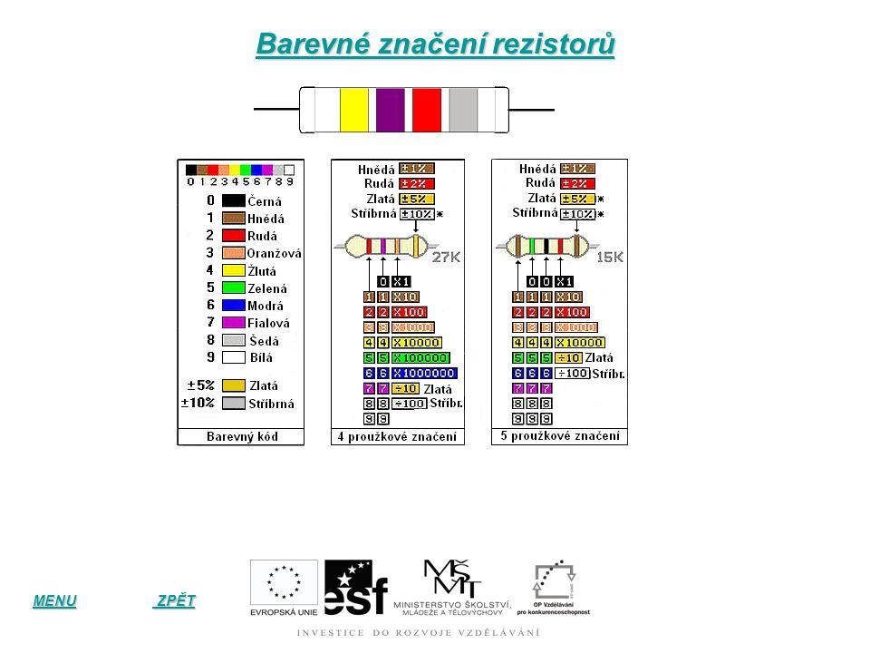 Rezistory s více než dvěma vývody Různé typy potenciometrických trimrů (nastavitelných rezistorů) Potenciometry otočné stereo (tandemové) Potenciometr