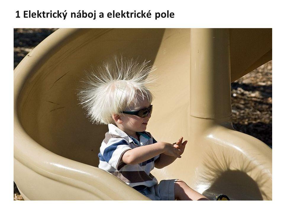 1 Elektrický náboj a elektrické pole
