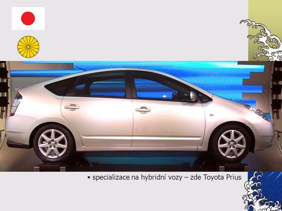 specializace na hybridní vozy – zde Toyota Prius