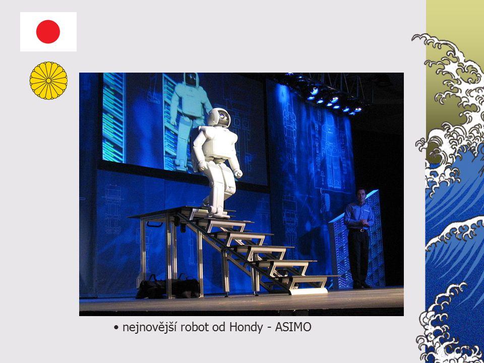 nejnovější robot od Hondy - ASIMO