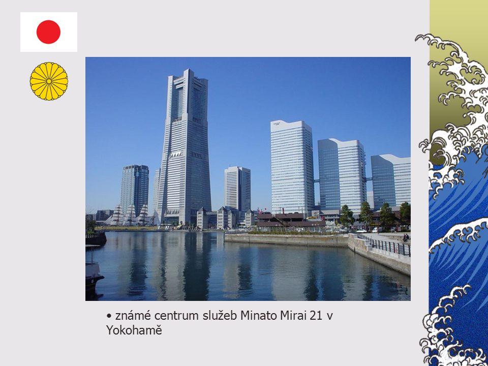 známé centrum služeb Minato Mirai 21 v Yokohamě