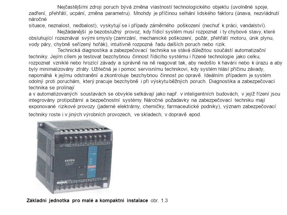 Základní požadavky na logické automaty Robustnost - PLC jsou proto konstruovány tak, aby mohly pracovat i v nejobtížnějších provozních podmínkách v těsné návaznosti na řízenou technologii, což klade vysoké nároky na jejich odolnost vůčí vlivům prostředí (teplota, vlhkost, prašnost, otřesy).