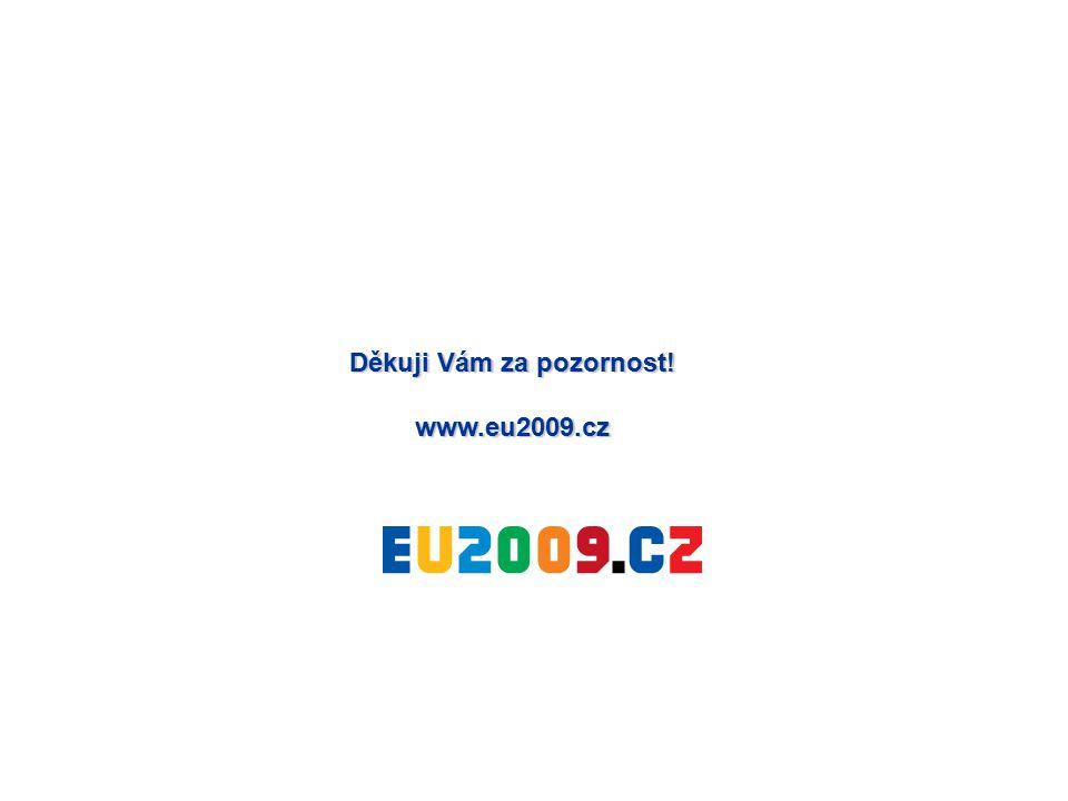 Děkuji Vám za pozornost! www.eu2009.cz