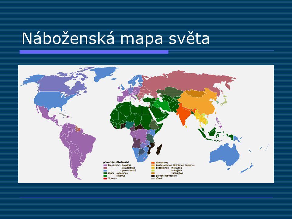 Náboženská mapa světa