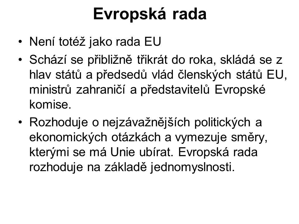 Evropský soudní dvůr Dbá nad dodržováním evropského práva a je významným kontrolním orgánem EU.