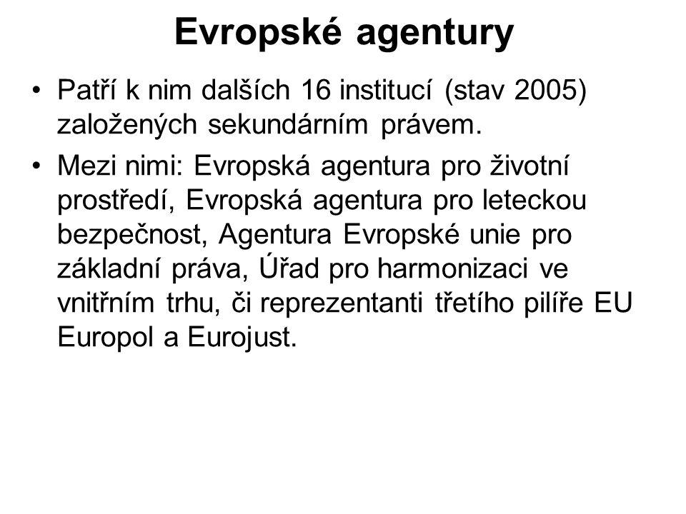 Další instituce Evropský soudní dvůr dbá nad dodržováním evropského práva a je významným kontrolním orgánem EU.