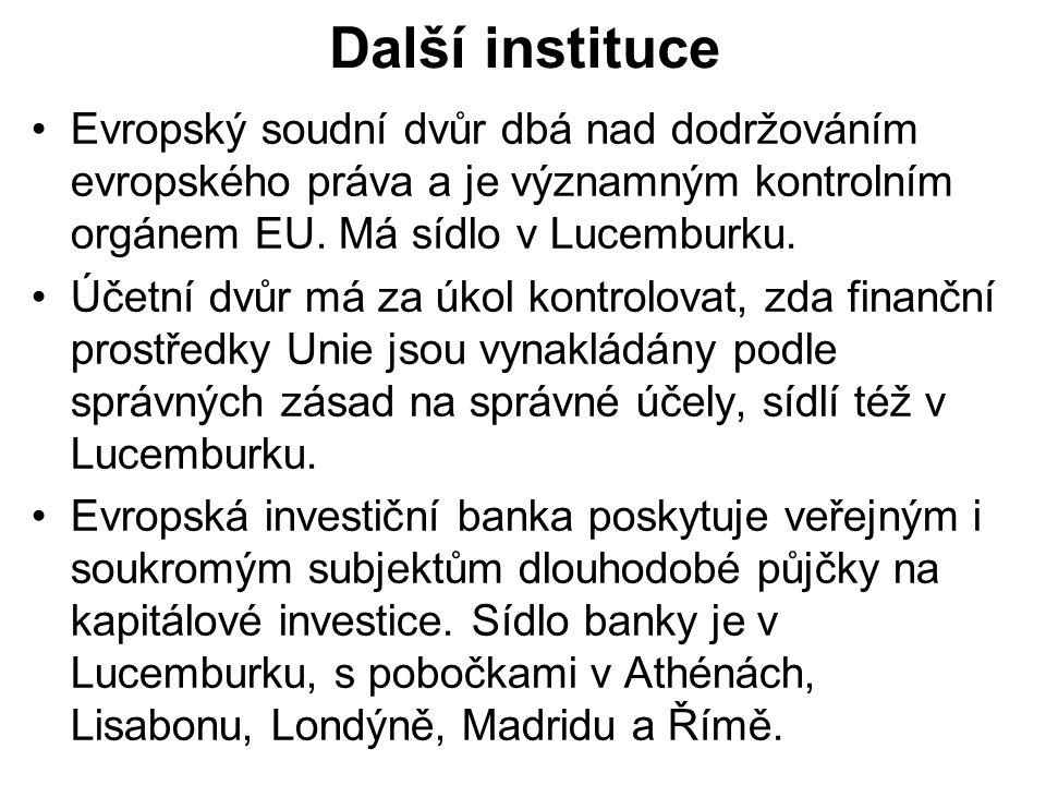 Evropský investiční fond pomáhá s rozšiřováním transevropských infrastruktur a poskytuje záruky na půjčky malým a středním podnikům.