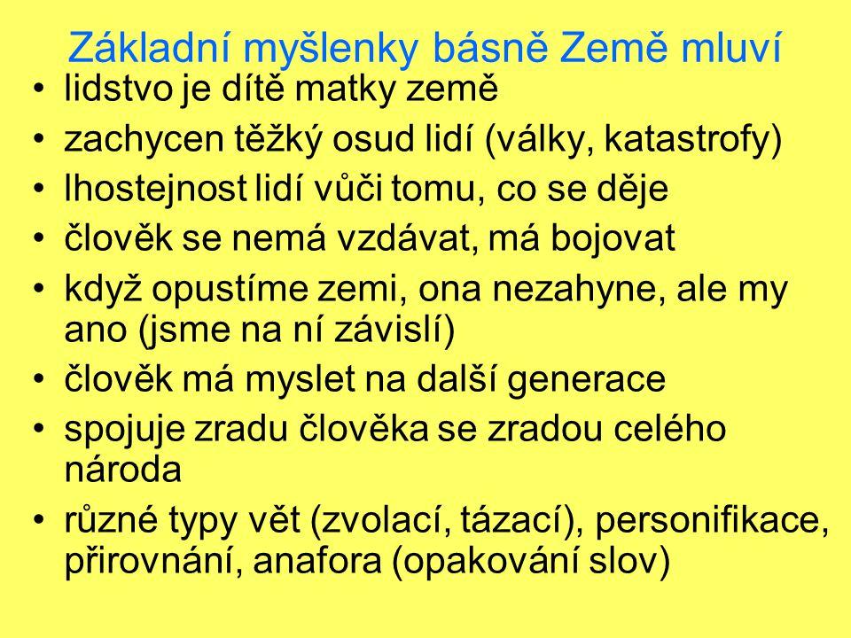 Viktor Dyk - próza Krysař - novela; podle německé pověsti o krysaři - zachránil město Hammeln od krys, ale nedostal slíbenou odměnu; zavedl obyvatele do propasti (zvukem píšťaly) – pomsta za lakotu; neštěstí přežil jen blázen a nemluvně – symbol (dítě ještě nemá rozum, blázen ho ztratil)