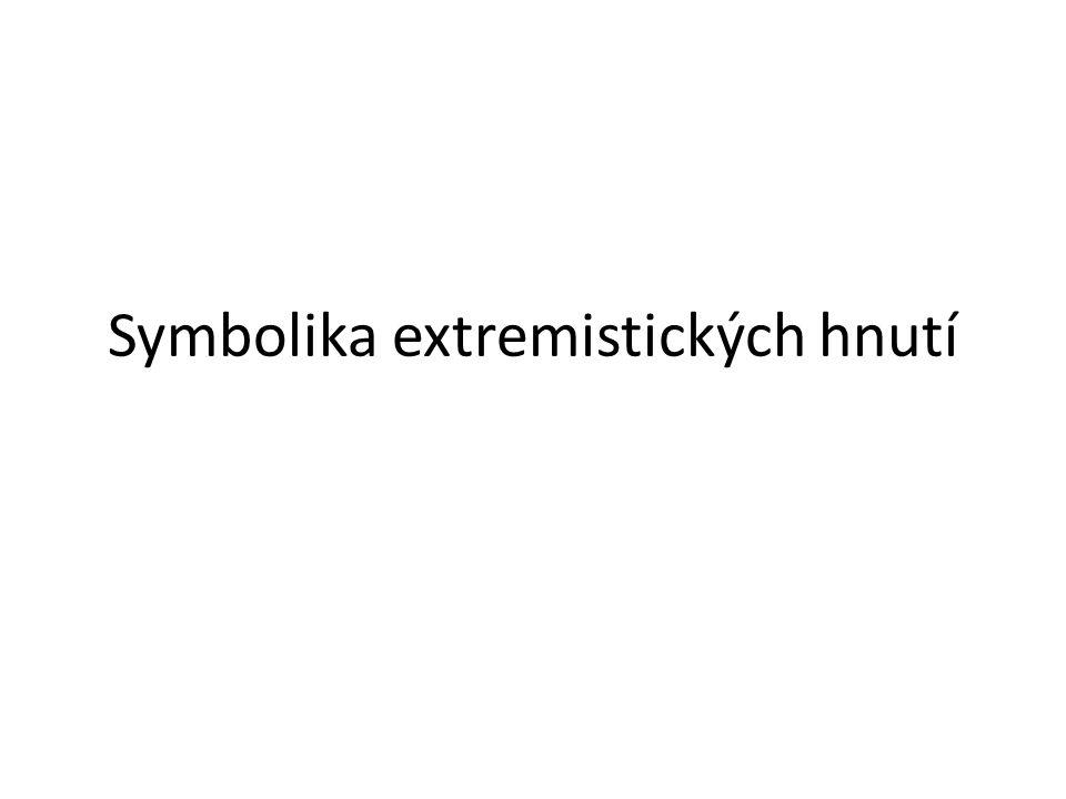 Symbolika extremistických hnutí