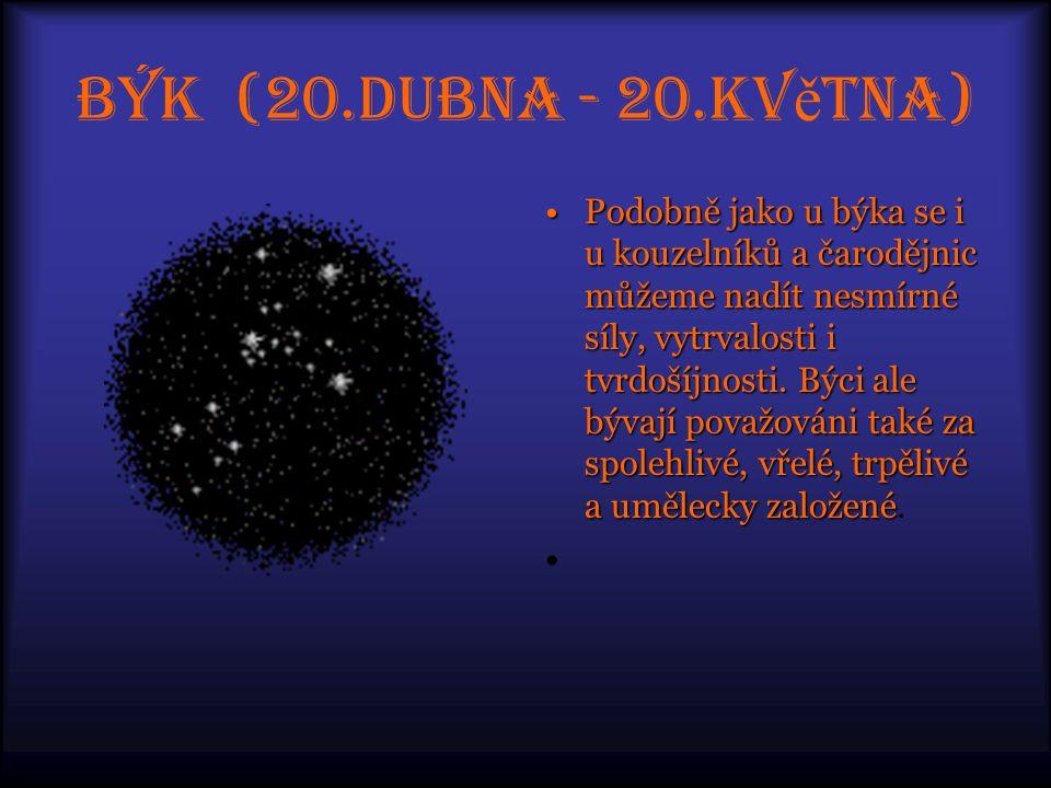 Blí ž enci (21.kv ě tna - 20.